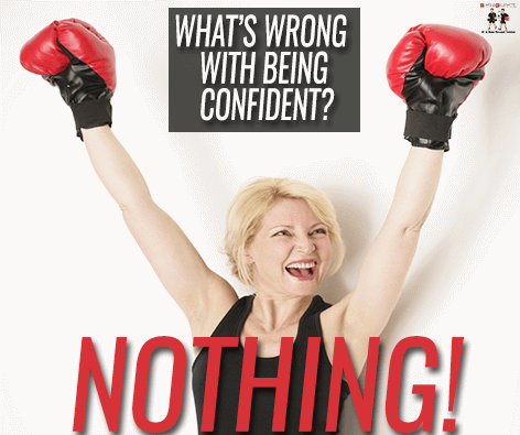 Main image for What's Wrong With Being Confident? (Nothing) blog post.