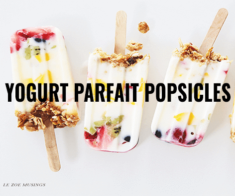 Main image for Recipe of the Week: Yogurt Parfait Popsicles blog post.